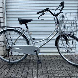 【ネット決済・配送可】【中古自転車】24インチ内装3段変速付 ラ...