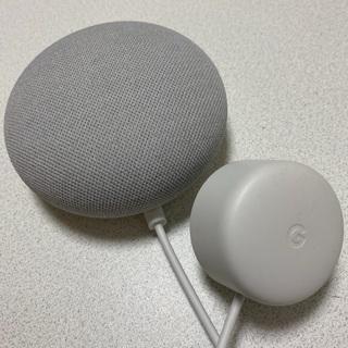 スマートスピーカー Google Nest Mini チョーク ...