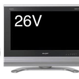 シャープ 26V型 液晶 テレビ LC26BD1 ハイビジョン ...