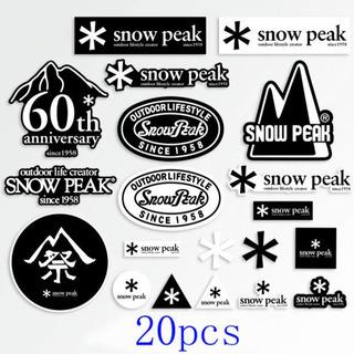 スノーピーク ステッカー 20枚セット snow peak