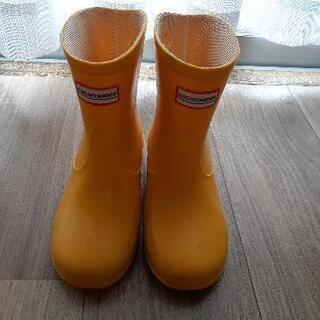 黄色い長靴 20cm