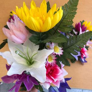 仏壇用の造花4本セット