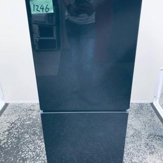 ④1246番 U-ING✨ノンフロン冷凍冷蔵庫✨UR-F110H‼️