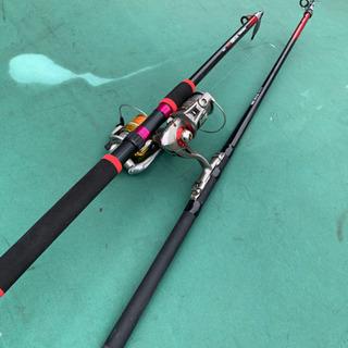 釣竿とリールのセット
