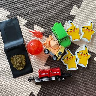 男の子のおもちゃ トミカ(ベンツ) 子供警察手帳 ピカチュ…