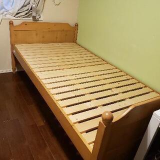 無料 取りに来ていただける方 シングルベッド&マット