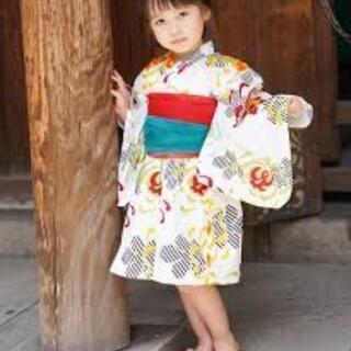 ゆかたドレス(ひよこ商店)120センチ