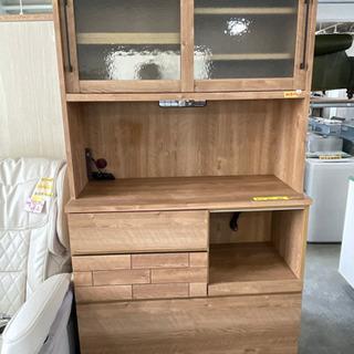 隅木工所食器棚 ウッド調 激安特価 管理番号52306