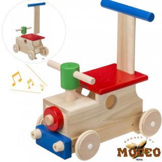 木製の手押し車