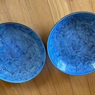 肥前 哲三郎窯 大皿2枚セット 有田焼