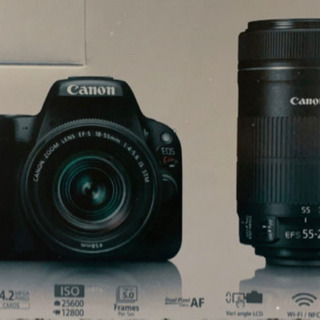 Canon Kiss x9  ダブルレンズ