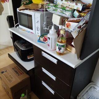 お取り引き中 食器棚 ニトリ 2年使用