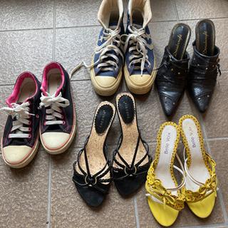 靴、サンダル、新品あり