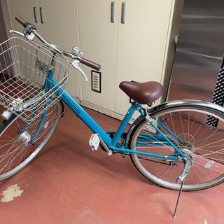 女性用自転車 5段変速