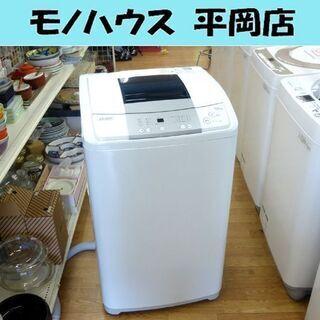 Haier 洗濯機 6.0kg JW-K60M ホワイト/白色 ...