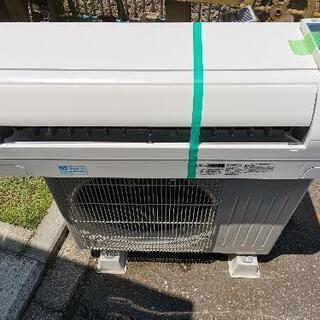 高年式2018年製、霧ヶ峰 ピュアホワイト 中古エアコン分解洗浄済み