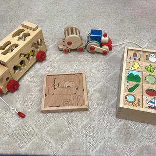 木のおもちゃセット 知育