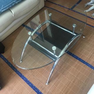 ガラステーブル おしゃれ テーブル 机 リビング