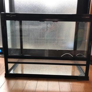 【ネット決済】美品 ワイルドプラネット 60×45×45 爬虫類...