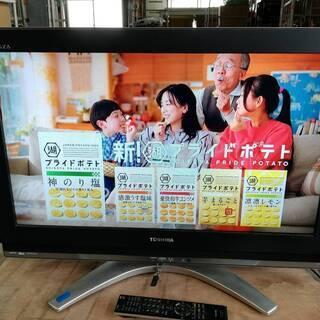 【062303】液晶カラーテレビ  東芝 REGZA 32…