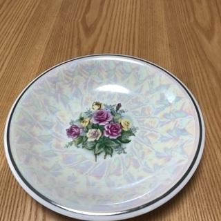 211、バラの絵皿
