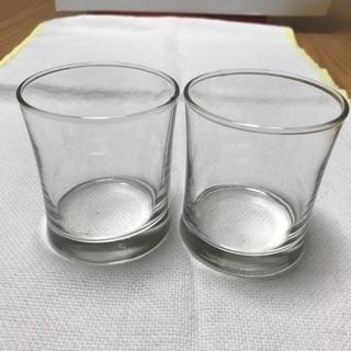 216、小グラス2個セット  ウイスキー用、ストレート用