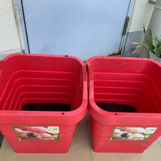 769 トマト栽培容器2つセット