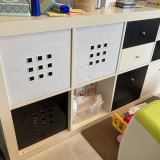 IKEA イケア キャビネット モノクロ