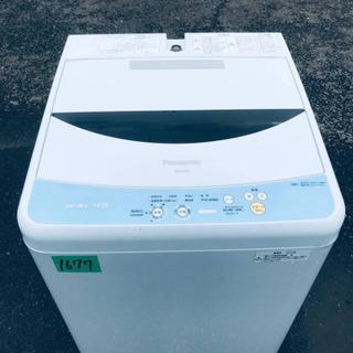 1677番 Panasonic✨全自動電気洗濯機✨NA-F45B2‼️
