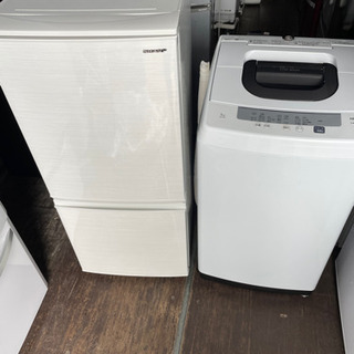No.924 国内メーカー 2019年製 冷蔵庫🌴洗濯機 2点セ...