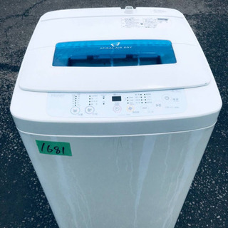 1681番 Haier✨全自動電気洗濯機✨JW-K42H‼️