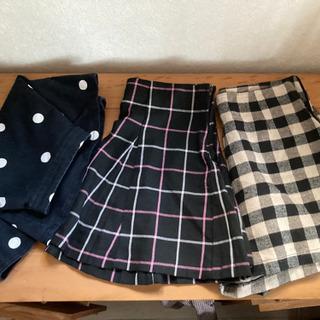 ショートパンツ&H&M ミニスカートセット