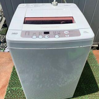 AQUA/アクア 全自動電気洗濯機【AQW-KS60B】6…