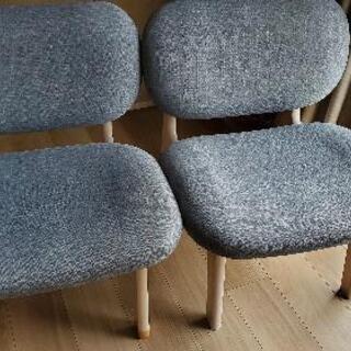 ニトリ 椅子2脚セット