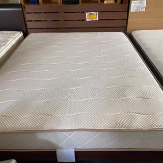 【ネット決済・配送可】ベッド(中古)
