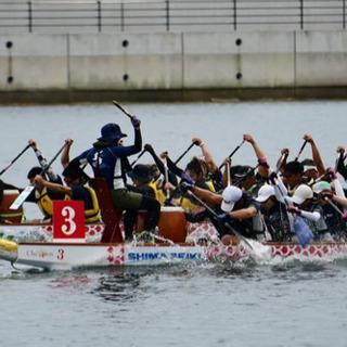 琵琶湖でドラゴンボートを一緒に楽しみませんか?