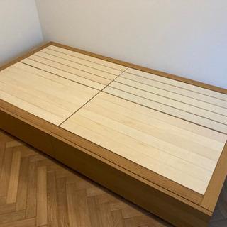 無印良品 収納ベッド シングルサイズ