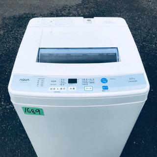 1689番AQUA✨全自動電気洗濯機✨AQW-S60D‼️