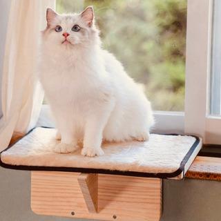 Petsfit 猫窓用ベッド ウインドウベッド マット付き 取り...