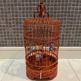 海外製の鳥かご インテリア 置き物