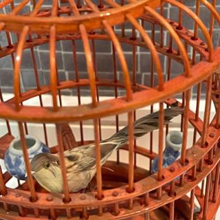 [お相手が決まりました]海外製の鳥かご インテリア 置き物 - 小牧市
