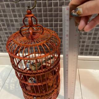 [お相手が決まりました]海外製の鳥かご インテリア 置き物 - 家具