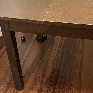 【ネット決済】IKEA ダイニングテーブル(LANEBERG レ...