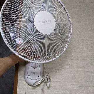 【美品、ジャクソン品】壁掛け扇風機【4点まとめて】