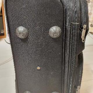 布製のスーツケース差し上げます - 新宿区