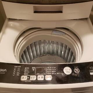 ※27日までの急募※AQUA 全自動洗濯機 4.5kg - 大阪市