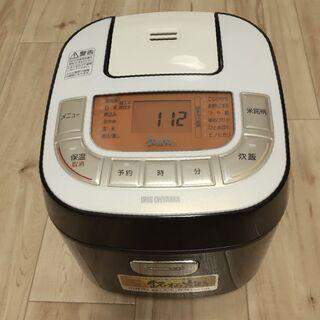 2017年製 アイリス 炊飯器 3合 RC-MB30
