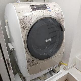 日立 ビッグドラム 洗濯乾燥機 BD-V3500L 配送業…