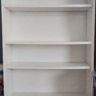 本棚(白)カラーボックス CDラック 多目的ラック