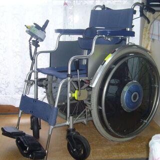 ヤマハ電動.車椅子・バッテリー2個・充電機付き美品